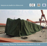 Diseño cubierto PVC del encerado de la cubierta de las mercancías de la tela
