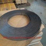 Lámina de madera negra de la sierra de cinta del corte
