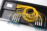 fibra óptica 8CH Rackmount Mux Demux CWDM de 1u 19inch
