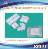 Médico Surigical 17 hilos de rayos X detectable gasa