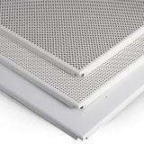 Aluminio Clip-en techo con el modelo perforado para la decoración interior