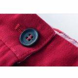 Il cotone adatto della pianura del pepe di peperoncino rosso del Regular di modo scherza gli Shorts delle ragazze