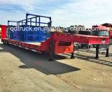 200トンのマルチ車軸低いベッドの頑丈な半トレーラー