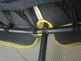 Techtop Powder Coating Mini Trampoline com redes de segurança para crianças