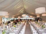 알루미늄 합금 Wedding 사건을%s 프레임에 의하여 주문을 받아서 만들어지는 크기 천막
