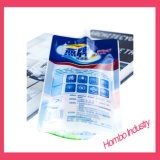 Bolsa de plástico, refuerzo doble bolsa de embalaje para la respiración Jelly
