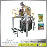 Caramelo, chocolate vertical automática máquina de embalaje con la escala