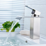 Deck Mounted Square Waterfall Faucet Faucet