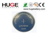 batteria delle cellule del tasto del litio 3.7V (LIR2016, LIR2032, LIR2477) per i prodotti elettronici di consumo