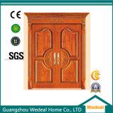 Подгоняйте нутряные твердые деревянные двери с стеклом