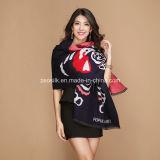 Зимы женщин 100% шарф акриловой теплый проверенный связанный