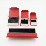 フリップ上の特殊紙のオフセットの宝石類の紙箱(J58-E)