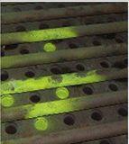 Polvo de pigmento fotoluminiscente para la inspección de la bolsa de filtro