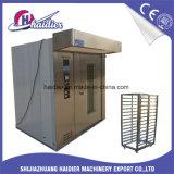 Un gas commerciale dei 16 cassetti/forno rotativo della cremagliera gasolio per la macchina di cottura del pane