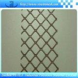 ステンレス鋼は鉄道で使用された金網を拡大した