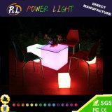 LED 가벼운 PE 물자 IP65 게으른 입방체 의자
