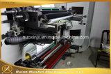 Machine d'impression flexographique à grande vitesse de film plastique de 6 couleurs