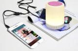 Bluetooth 소형 스피커를 가진 휴대용 LED 접촉 센서 테이블 램프