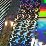 Película holográfica de aluminio estampado en caliente de la lámina de vidrio y de impresión