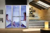 Familia usando la venta caliente de acrílico Wet Steam Room 7D