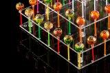 Banco di mostra acrilico del Lollipop delle 3 file