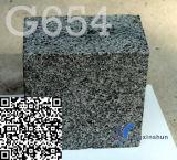 Mattonelle naturali della pietra del nero del sesamo personalizzate G654