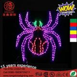 LED-60cm eingehangenes fliegendes Hexe-Geist-dekoratives Licht für Halloween-Dekoration