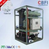 Máquina comestible del tubo del hielo de Cbfi para el restaurante, hotel, barras