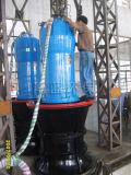 Bomba de água centrífuga de fluxo misto axial submersível