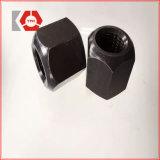 Высокопрочная стальная чернота и покрынная цинком Hex гайка DIN6334