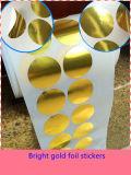 Stikcer auto-adhesivo,  Etiqueta engomada adhesiva, etiqueta engomada de la resina de epoxy, etiqueta engomada del código de barras, etiqueta engomada del holograma, etiqueta engomada del alimento, etiqueta engomada cosmética Ect.