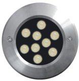 Luz subacuática del acero inoxidable del LED