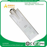 luz de calle solar integrada de la viruta de 30W Bridgelux LED