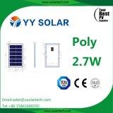 Module solaire polycristallin de haute qualité 2.7W-3W
