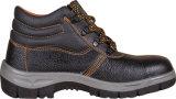 Натуральная кожа обувь со стальным носком и пластину, резиновые или полиуретановая подошва
