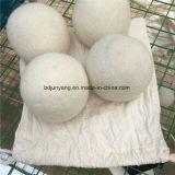 Bille organique de dessiccateur de blanchisserie de laines de 100%/bille de laines