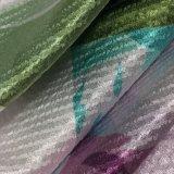 50d * 75D Bright Bubble satin imprimé numérique pour s'habiller
