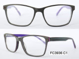 Public garden Shape Men Acetate Optical Frame (It)