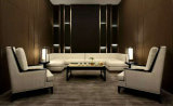 ホテルまたは居間のための中国の旧式なゴム製木製の家具のソファー