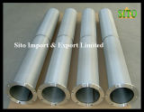 Água do engranzamento de fio do aço inoxidável 316/filtro cilindro do gás/petróleo