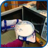De Ovenwanten en Pannelappen Set van Cotton Baking van de keuken