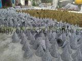 Potenciômetro Handmade decorativo do jardim do Rattan de Stylished
