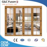 Preço do vidro corrediço de porta de alumínio com vidro temperado duplo de vidro transparente