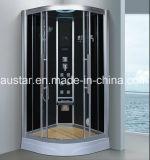 sauna del vapore del settore di 900mm con l'acquazzone per la singola persona (AT-D0910)