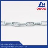 1/8 '' di zinco lungo della catena a maglia dell'acciaio al carbonio placcato