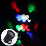 Lampada romantica approvata di festa dell'indicatore luminoso del proiettore del cuore di RoHS del Ce per la decorazione