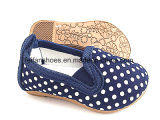 Baby-Baby-Einspritzung-Segeltuch-Schuh-verursachende Fußbekleidung-Schuhe (FFBB1228-01)