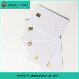 Cartão do PVC da microplaqueta da impressão de tinta Sle4442 do tamanho de Cr80*30mil