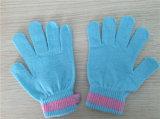 Guanto lavorato a maglia caldo conduttivo dello schermo di tocco della fibra di vendite calde