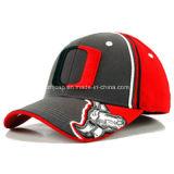 A alta qualidade da forma ostenta o boné de beisebol com a impressão do bordado